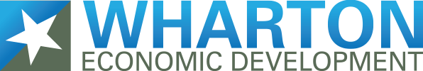Wharton Texas Economic Development Commission logo